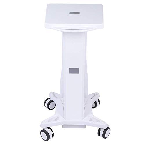 Allamp Salón Instrumento Bandeja de la Carretilla, Estable Pedestal del balanceo Cesta de Ruedas de la Carretilla Soporte de Almacenamiento de la Compra del salón de Belleza Máquina de Belleza Holder