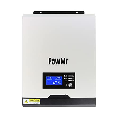 24V Inverter 2400W DC24V to AC 220V Hybrid Inverter Built-in pwm Charge Controller Work with 24V Battery Single Phase 220VAC
