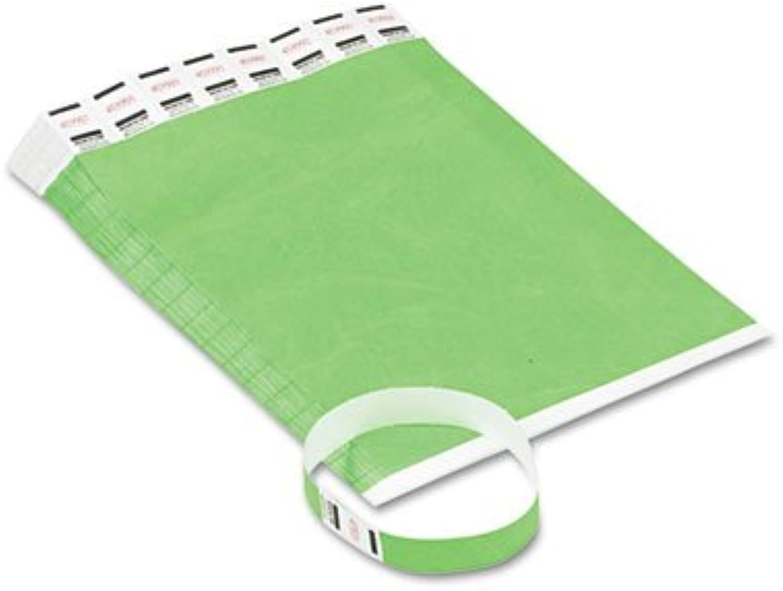 Crowd Management Armbänder, fortlaufend fortlaufend fortlaufend nummeriert, grün, 500 PACK – avt75511 B00QW4AYKY | Niedriger Preis und gute Qualität  3917ec