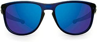 cd5669ed36a75 Oakley SLIVER R OO9342L 934209 Azul Lente Espelhada Verde Safira Iridium Tam  57