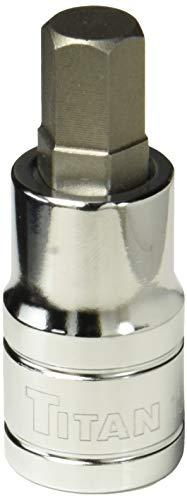 Titan 15611 1/2-Inch Drive x 11mm Hex Bit Socket