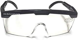 EMI # 411 BLACK Full Frame Adjustable Eyewear Medical Safety Glasses