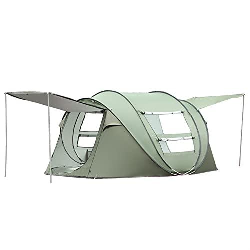Camping Apertura automática al aire libre Camping Tienda de campaña Protección UV Protección a prueba de lluvia Tienda de tiendas de tiendas de excursiones ligeras Tiendas de mochileros Tienda tipi