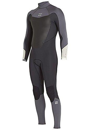 Billabong Absolute Comp 5/4mm wetsuit met Back Zip ASPHALT - Warme warmtelagen lagen gemakkelijk stretch