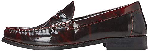 find. Maximum Penny Loafer Herren Slipper, Rot (Burgundy), 42 EU