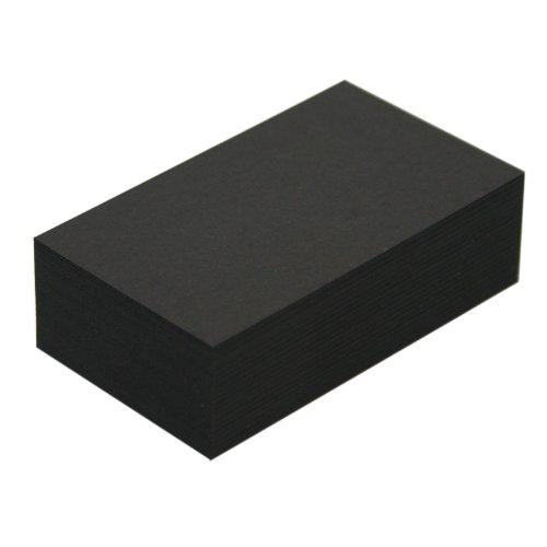 名刺用紙紀州色上質超厚口黒(ブラック)約0.26mm/枚100枚