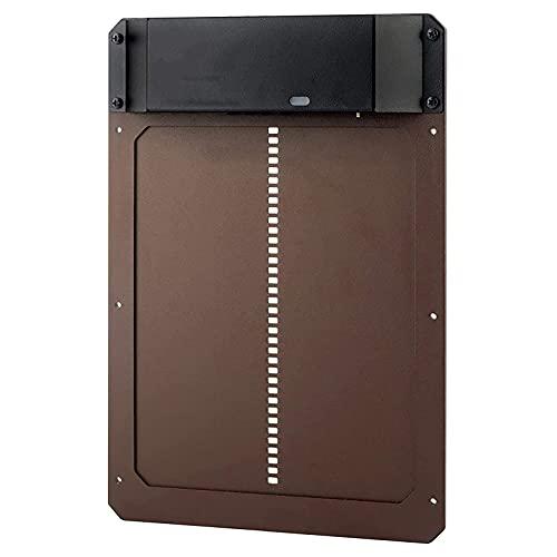 Hmpet Porta Automatica Pollaio, Apriporta Automatico per Pollaio Alimentato A Batteria Porta, con Controllo del Sensore di Luce Fotosensibile, Facile da Installare E Utilizzare