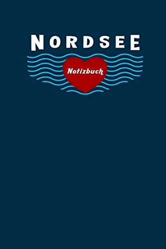 Nordsee Notizbuch: Dotted 6X9inch (Ca. Din A5)