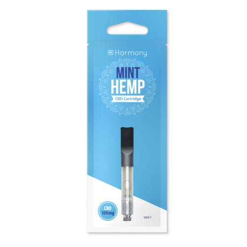 CBD 100mg cartucho Mint Hemp E-Liquid para Vape Harmony