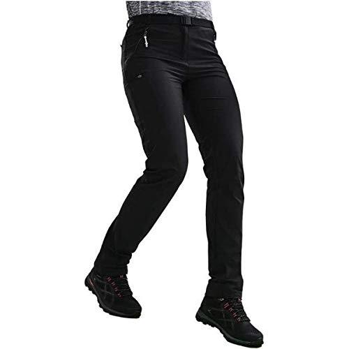 Regatta Xert Hiking Pants, Black, 48 Womens
