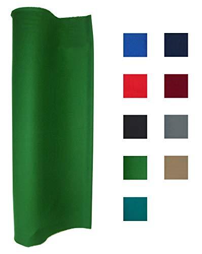 Performance Grade Pool Table Felt - Billiard Cloth - for an 8 Foot Table English Green