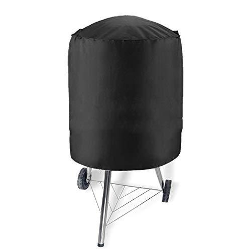 rongweiwang Im Freien wasserdichte Rund Kettle Grill Grill Abdeckung Grill Grill-Abdeckung Ox Cloth-Schutz UV-beständig Einfache Reinigung