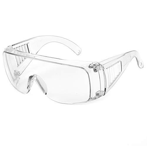 Occhiali di sicurezza Occhiali anti-virus Protezione antipolvere Protezione antivento Occhiali Occhiali professionali Proteggi i tuoi occhi (Cornice di cristallo 9001)