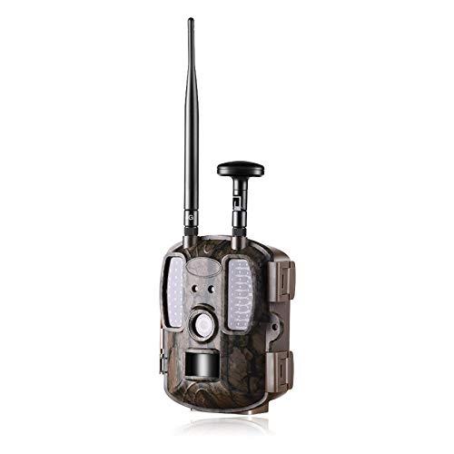 4G Caza Trail Cámaras, 940nm IR Wildlife Forest Hunting Trap Camera con 120 ° gran angular IP66 impermeable 12MP HD Wild Game Cameras