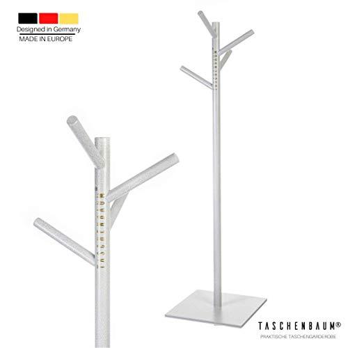 Taschenbaum® Der Garderobenständer für 16 Taschen & Diverses | Mit Vier Langen Haken | Stabil | Kein Aufbau erforderlich
