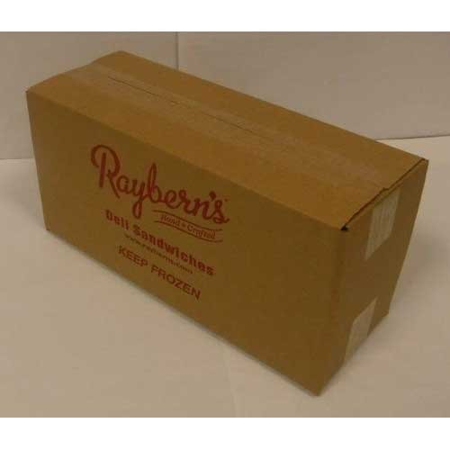 Rayberns Philly Cheesesteak Wrapped Sandwich, 5.5 Ounce -- 8 per case.