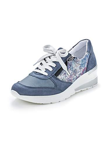 Avena Damen Hallux-Sneaker Hüftschwung Blau Gr. 40