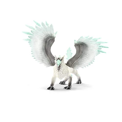 SCHLEICH Eldrador Ice Griffin Imaginative Toy for Kids Ages 7-12