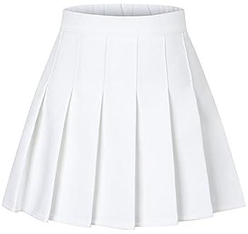 white skirt for girls