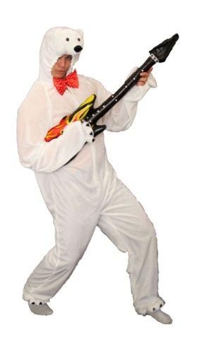 Foxxeo Costume da Orso Polare Orso Polare per Adulti - Costume da Orso Polare per Uomini e Donne -, Taglia: M-L