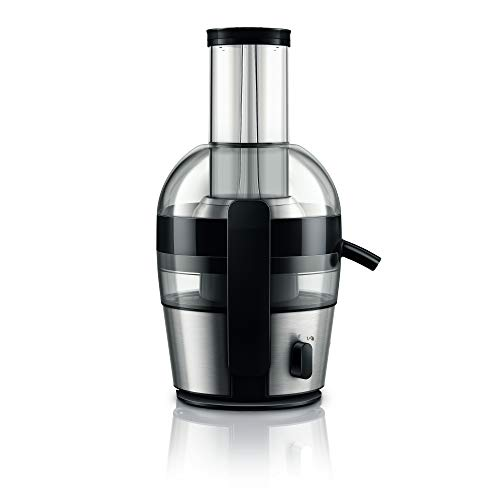 Philips Viva Collection HR1863/20 2-Litre Juicer (Black/Silver)
