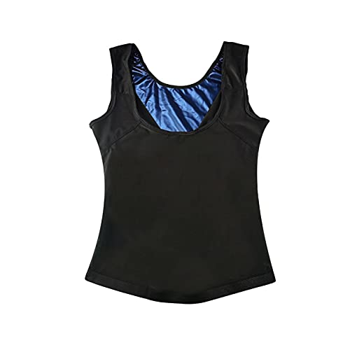 qazx Women?s Sports Sweat Vest, Sweat Workout Body Shaper, Workout Shirt,Neoprene-Free Weight Loss Suit (2XL/3XL)