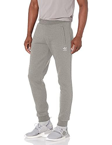 adidas Originals Pantalones Trefoil Essentials para hombre - gris - X-Large