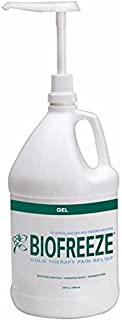 Biofreeze Gel 1 Gallon with Ilex Pump Included Green Gel