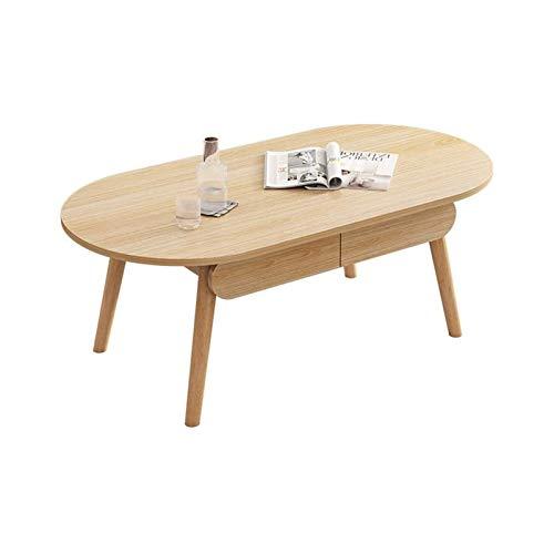 ZXNRTU Diseño Simple Mesa de café Mesa de Centro con cajones de Almacenamiento conciso Estilo Moderno Muebles for el Hogar Oficina Adecuado for su Sala de Estar for la Sala