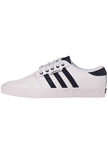 adidas Men's Skateboarding Shoes, White Ftwwht Conavy Gum4 Ftwwht Conavy Gum4, 9.5 UK