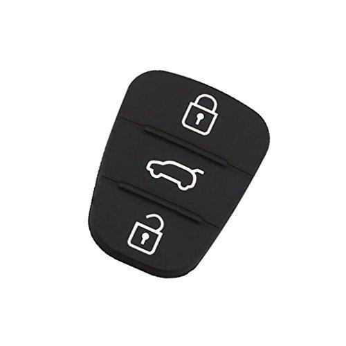 Sharplace Cover Auto Chiave A Distanza Telecomando Custodia a Chiavi 3 Buttone per Auto