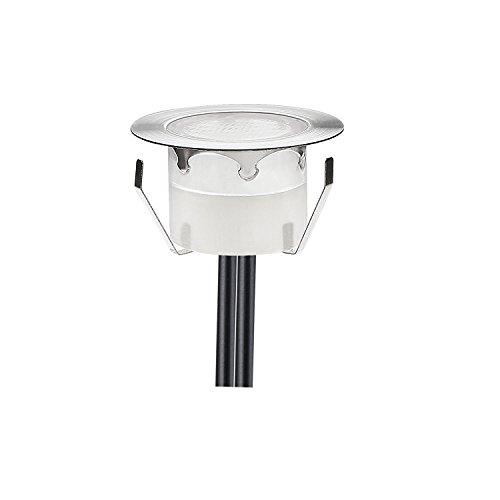 QACA LED Einbauleuchten Bodeneinbaustrahler RGB Deckenspot Einbaustrahler Deckenleuchte Wasserdicht IP67 Einbaulampe 0,2W ~ 0,5W Ø45mm Außenleuchten für Küche Garten Treppen Balkon Terrasse