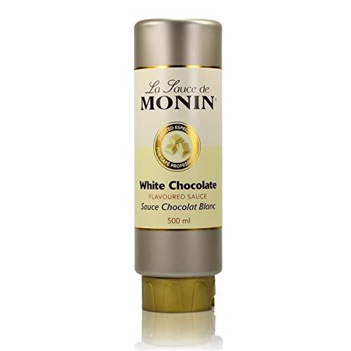 Monin White Chocolate Sauce 500ml