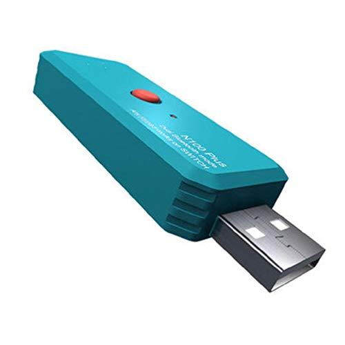 Wireless Bluetooth Gamepad Receptor Controlador Adaptador para Interruptor para PS4 Receptor Bluetooth Inalámbrico USB