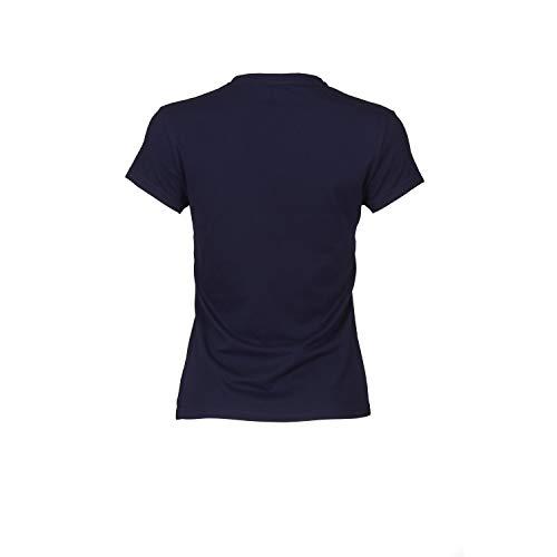 K-Swiss 918206201 Camiseta, Mujer, Azul Marino, M