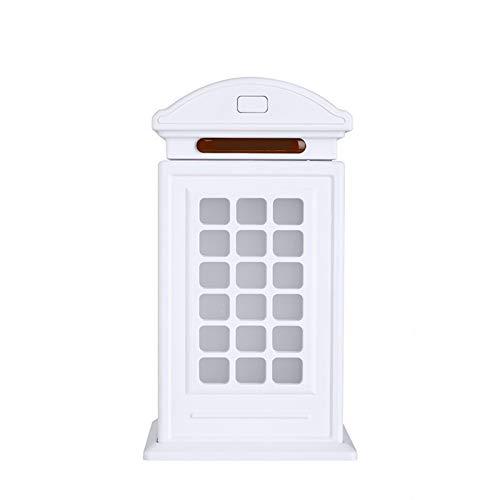 1 pieza creativo humidificador mini cabina de teléfono en forma de difusor de aire purificador de oficina hogar coche