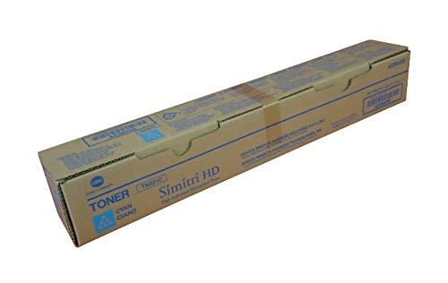 Konica Minolta TN321C A33K230 Bizhub C224 C284 C364 Toner Cartridge (Cyan) in Retail Packaging