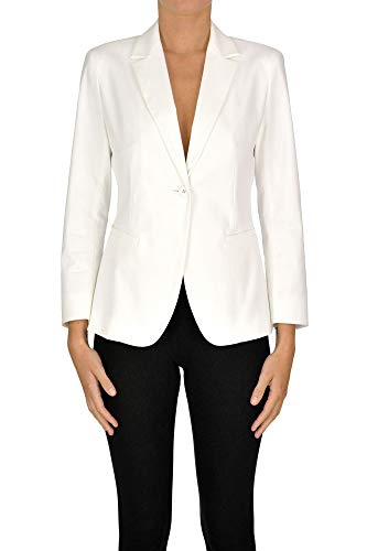 Luxury Fashion | Max Mara Studio Dames MCGLCSG0000C7086E Wit Katoen Blazers | Seizoen Outlet