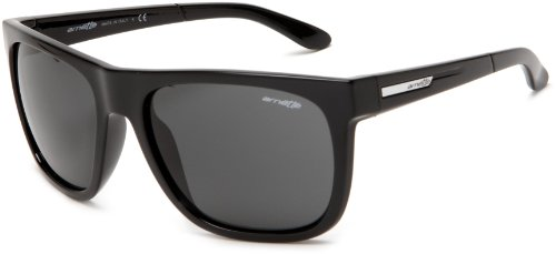 Arnette Herren Sonnenbrille Fire Drill, black/grey, AN4143-05,