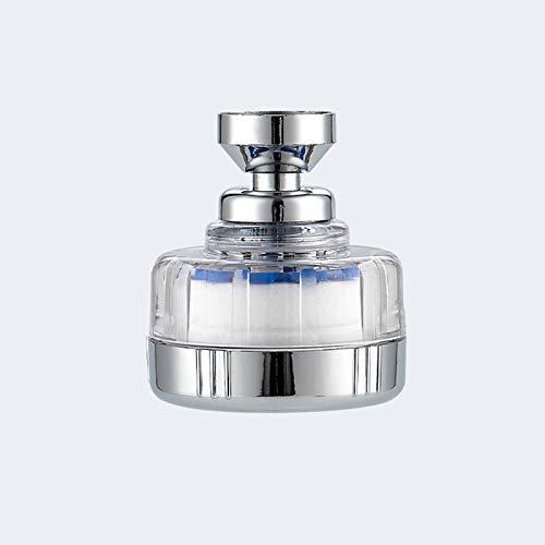 Lamcomt Extensor de grifo para niños movible 360° giratorio cabezal de ducha difusor giratorio boquilla ajustable Booster grifo accesorios de cocina herramienta rociador (color: A)
