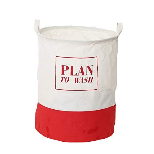 DEJVA waszak, katoen, linnen, mand, opvouwbare grote wasmand, speelgoed, trommer, opbergmand