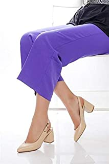 TARÇIN Hakiki Deri Klasik Günlük Kadın Topuklu Ayakkabı TRC71-0028
