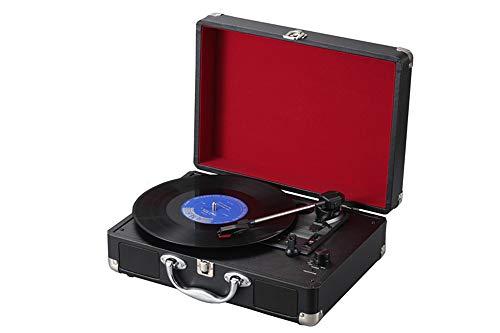 Multifunktions-Gepäck-Plattenspieler, Vintage-Plattenspieler, Vinyl-Plattenspieler, Plattenspieler