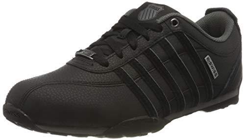 K-Swiss Mens Arvee 1.5 Sneaker, Black/Black/Gunmetal, 45 EU
