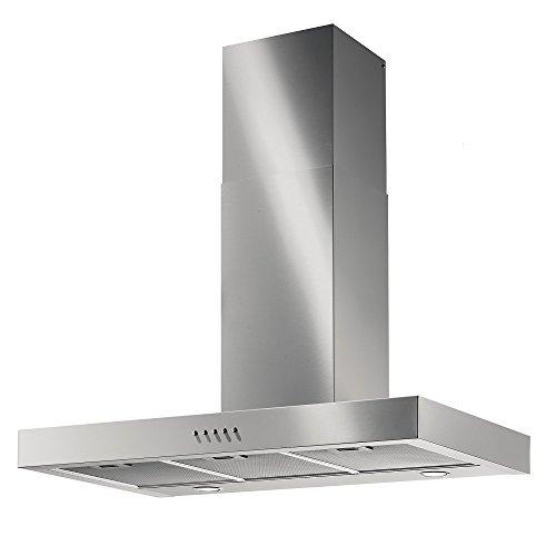 Kaminhaube Wandhaube der Oberklasse/GALVAMET NEPTUNE INOX / / * EEK A * / 100% MADE IN ITALY/STARK und LEISE/Dunstabzugshaube/Inox Design/ECO LED (70)