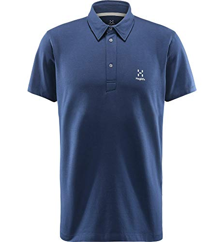 Haglöfs Mirth Polo pour Homme Bleu Camouflage Taille S