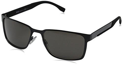 Hugo Boss Herren BOSS 0638/S NR HXJ 58 Sonnenbrille, Schwarz (Nero)