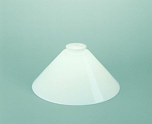 Glasschirm 25 Opalweiß