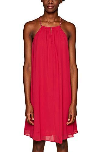 ESPRIT Collection Damen 039EO1E031 Kleid, Rosa (Pink Fuchsia 660), (Herstellergröße: 42)