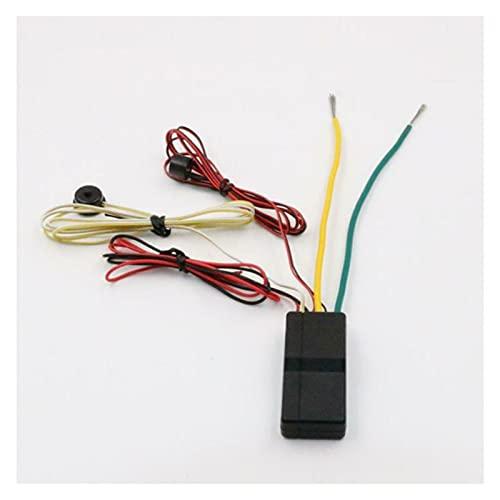 HUIXIAN XXIPO STRC Cerradura de Motor de compatibilidad Fuerte RFID Coche W/Alarma de Corte de Circuito Inmoviliza Modo de liberación de Emergencia RF 2.4GHz